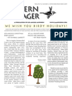 November-December 2007 Western Tanager Newsletter - Los Angeles Audubon
