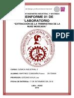 Caratula Informe de Quimica