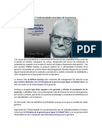 7 Enfermedades de La Gerencia William Deming
