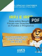 Guia Sobre Beneficios Fiscais Nas Doações Para Os Fundos e Programas-UCS(NAF)