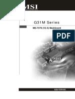 PLACA MÃE MSI 7379v2.0(G52-73791X5)(Europe)