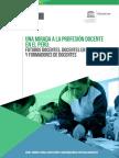 Una Mirada a La Profesión Docente en El Perú Ccesa007