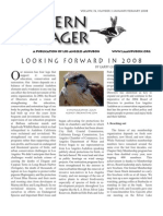 January-February 2008 Western Tanager Newsletter - Los Angeles Audubon