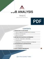 HRM - Group 6 - Job Analysis - Final - 10 Aug 2018