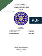 SAP 8 Akuntansi Biaya