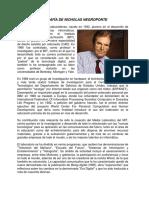 Biografía de Nicholas Negroponte