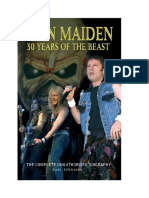 Paul Stenning Iron Maiden 30 Years of the Beast the Complete Unauthorised Biography Chrome Dreams