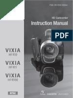Manual Canon Vixia HF R 11