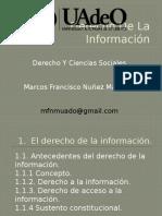 Derecho de La Información