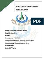 Language Skills-I (5659)