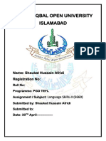 Language Skills-II (5660)