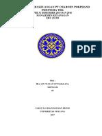 Analisis Rasio Keuangan Pt Charoen Pokphand Indonesia Tbk