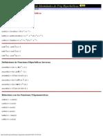 Some Hyperbolic Trigonometric Identities