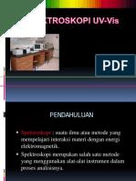 Spektroskopi UV VIS