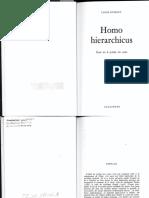 Dumont 1966, Homo Hierarchicus, Essai Sur Le Système Des Castes