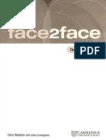 WCAMBRIDGE 2005 Face2face Elementary Workbook 10