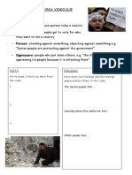 Video Worksheet on Syria