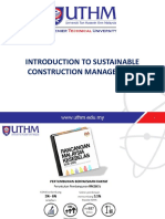 Chapter 1 Sustainable Construction Management Updated