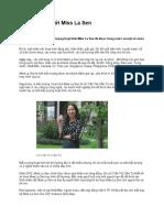 Khởi Nghiệp Với Miss La Sen- Báo ICTpress.vn