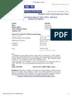 Teacher Eligibility Certificate