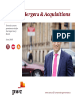 Pwc Mergers Acquisitions
