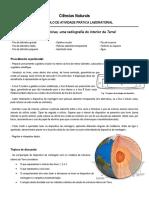 Atividade Ondas Sismicas e Estrutura Interna
