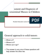 11 Abdominal Masses Resident Lecture Series v3
