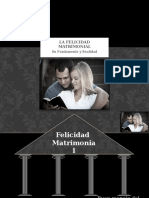 5 a El Evangelio Fundamento Del Matrimonio