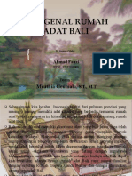 Mengenal Rumah Adat Bali