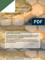 Role of Women in National Development