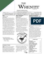 January-February 2004 Wrentit Newsletter ~ Pasadena Audubon Society