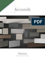 Honnun Keramik Catalogo 2017