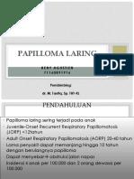 PPT PAPILLOMA LARING