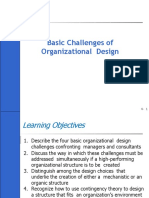 Org Design Challenges