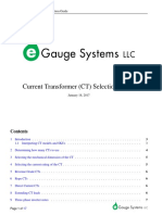 Egauge CT Guide