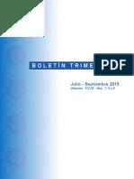 Informe de la economía dominicana 09/2015