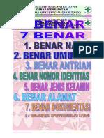 7 BENAR