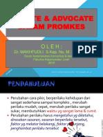 Promosi Kesehatan 2018 New