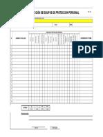 022 Inspeccion Individual de Epp