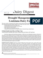 Drought Management Louisiana Dairy Farms