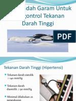 92811791 PPT Diet Rendah Garam Untuk Mengontrol Tekanan Darah Tinggi