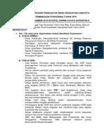 Resume Hasil Pertemuan Workshop Penguatan Dinkes Pemb Pusk 1 Sd 3 Nov 2016
