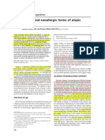 Allergic and Nonallergic Forms of Atopic Diseases. JACI 2003