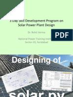 Designing of PV 2