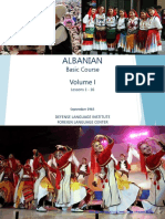 Albanian Volume 1 FSI Basic courses