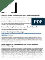De Enige Beste Strategie Die U Wilt Gebruiken Voor Online Marketing Bureau