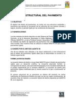 Diseño de Pavimento Progreso