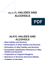 4alkyl Halides and Alcohols