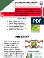 Realidad Nacional Diapositiva Gestión Territorial Grupo 3 18 1