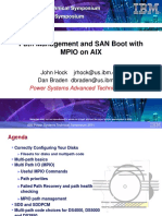 Path Management and SAN Boot with MPIO on AIX